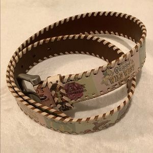 Fossil Genuine leather belt size M